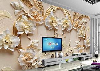 Tranh Hoa 3D Đẹp - T9227