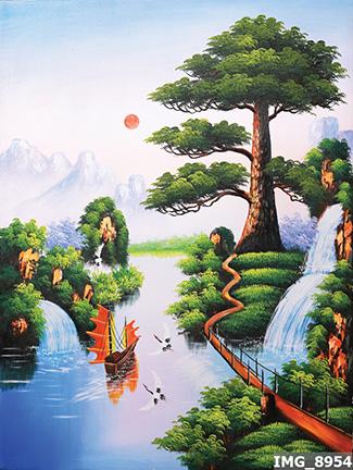 Tranh Đồng Quê - DQ57089