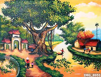 Tranh Đồng Quê - DQ57018