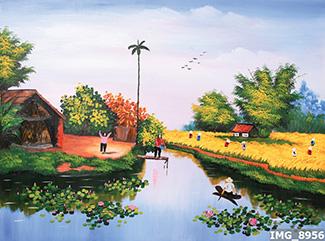 Tranh Đồng Quê - DQ57020