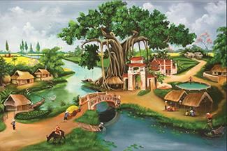 Tranh Đồng Quê - DQ57022