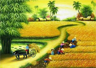 Tranh Đồng Quê - DQ57025
