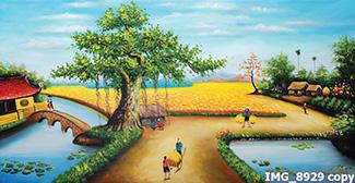 Tranh Đồng Quê - DQ57013