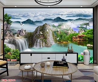 Tranh Sơn Thủy - ST30515