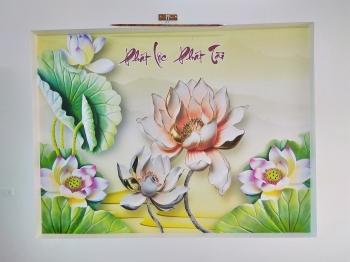 Tranh Hoa Sen - 28380