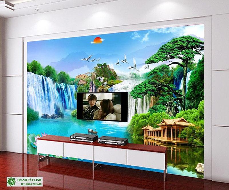 Tranh Sơn Thủy - ST02812