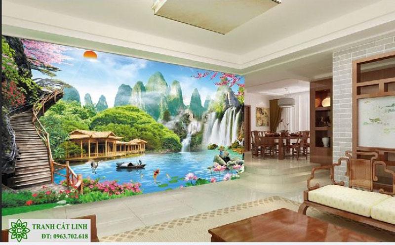 Tranh Sơn Thủy - ST02815