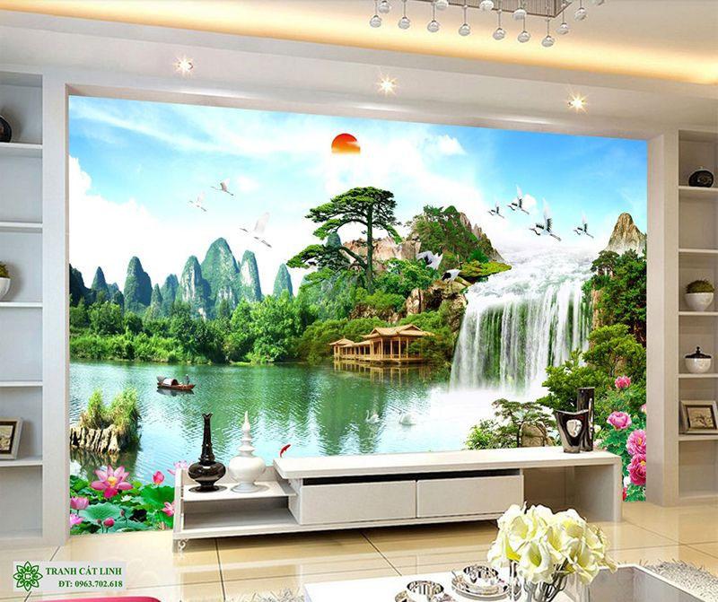 Tranh Sơn Thủy - ST0288