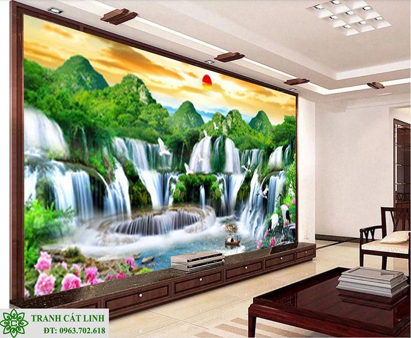 Tranh Sơn Thủy - ST02811