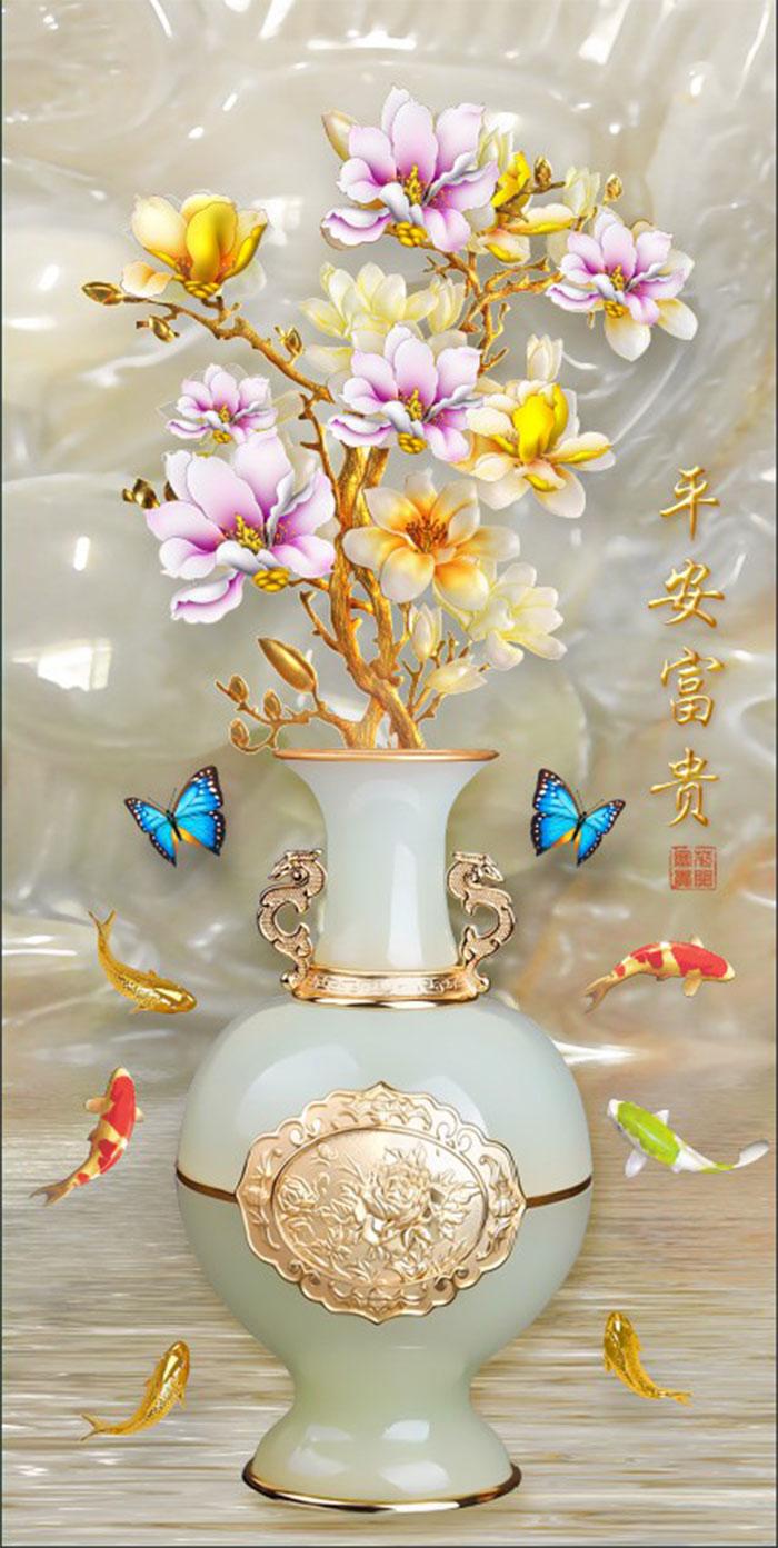 Tranh Bình Hoa - 10162