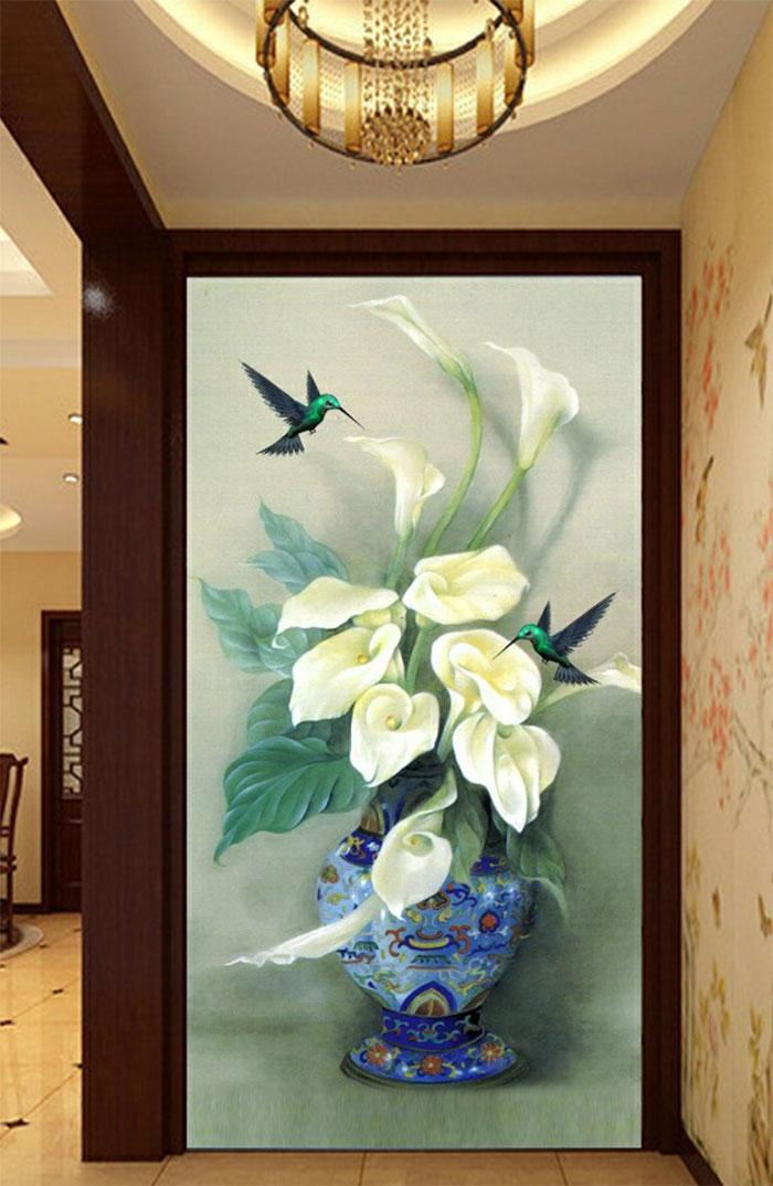 Tranh Bình Hoa - 10993