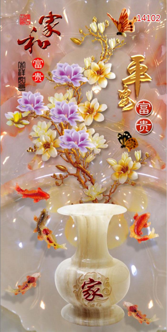 Tranh Bình Hoa - 14102