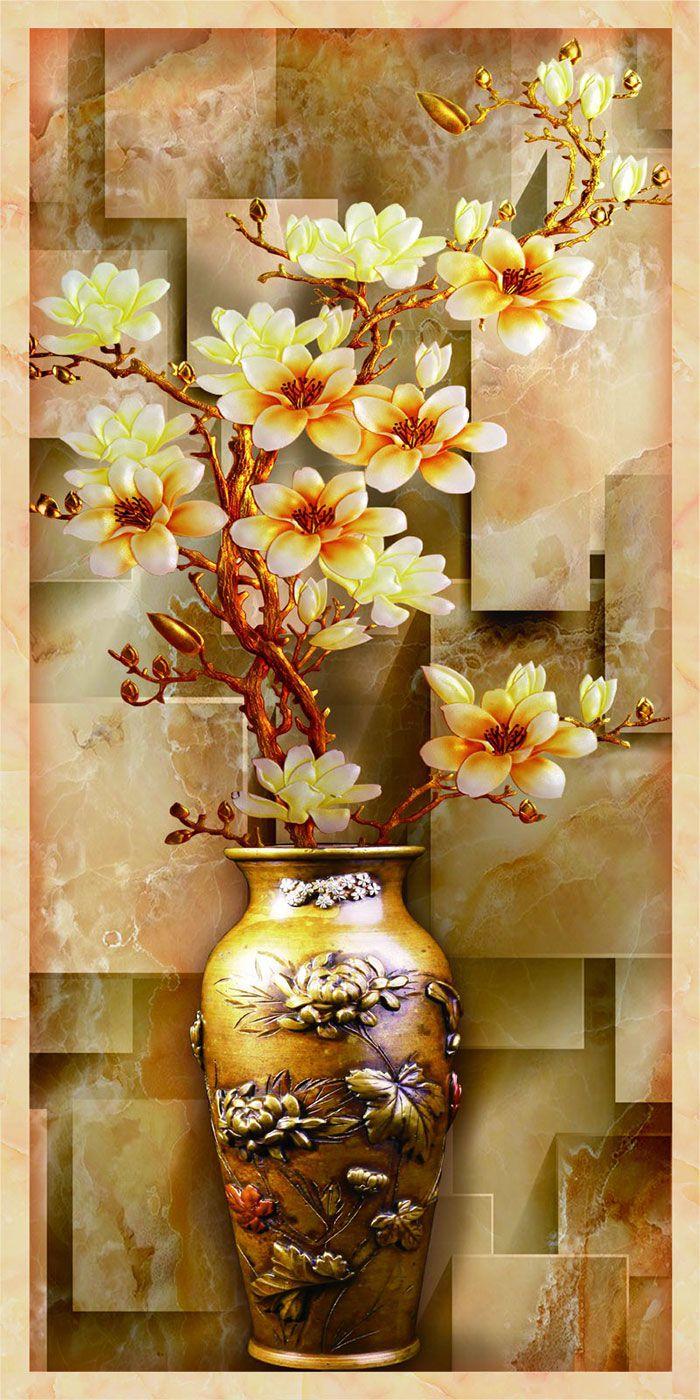Tranh Bình Hoa - 1420