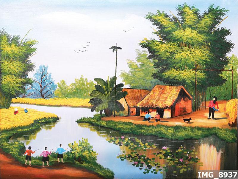 Tranh Đồng Quê - DQ57014