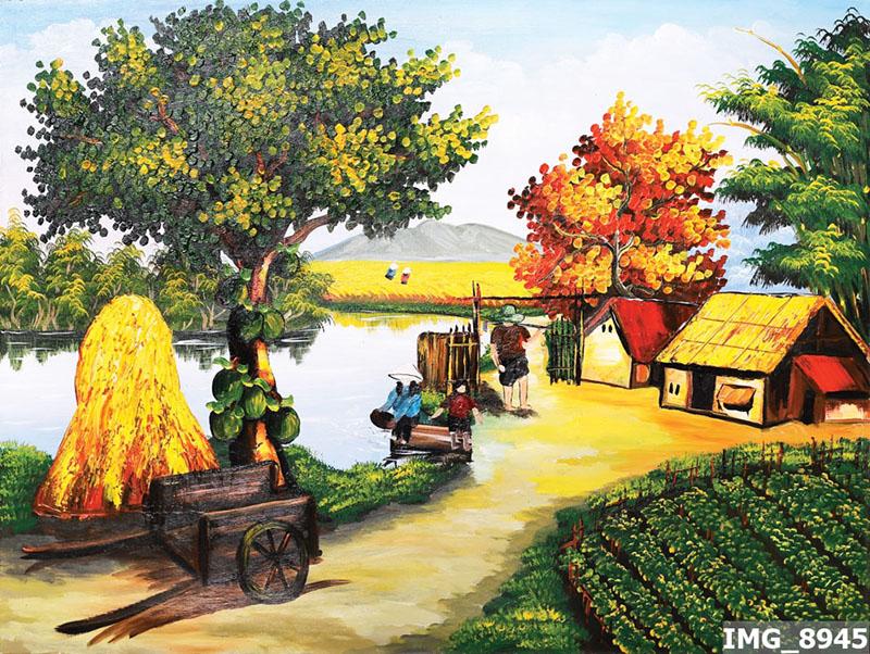 Tranh Đồng Quê - DQ57015