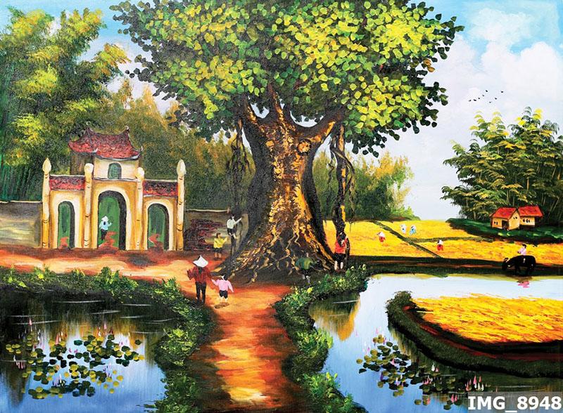 Tranh Đồng Quê - DQ57016