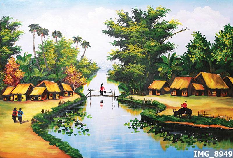 Tranh Đồng Quê - DQ57017