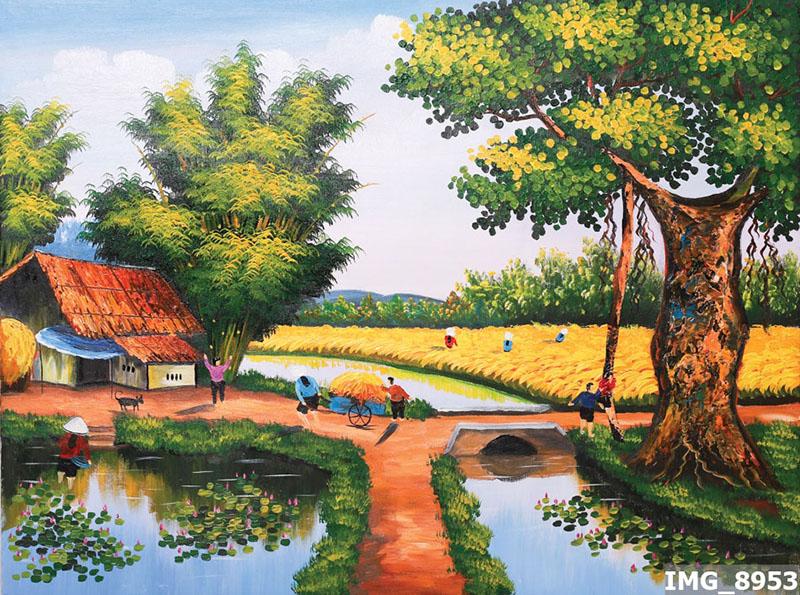 Tranh Đồng Quê - DQ57019