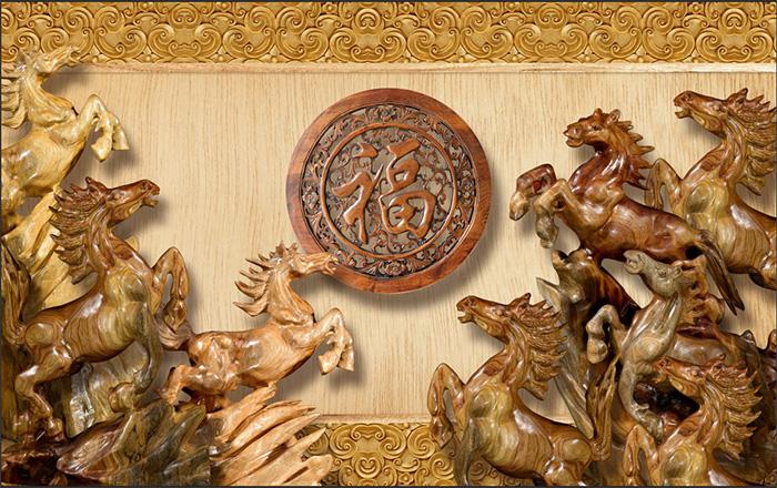Tranh Ngựa | Tranh Mã Đáo Thành Công - 10307