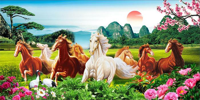 Tranh Ngựa | Tranh Mã Đáo Thành Công - 13493