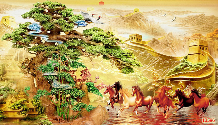 Tranh Ngựa | Tranh Mã Đáo Thành Công - 135961