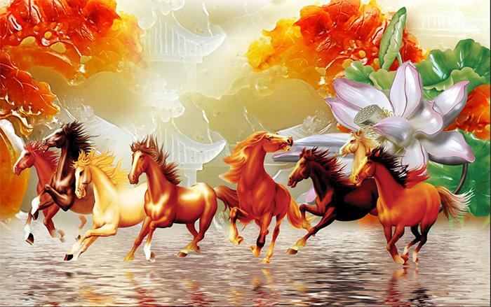 Tranh Ngựa | Tranh Mã Đáo Thành Công - 13636