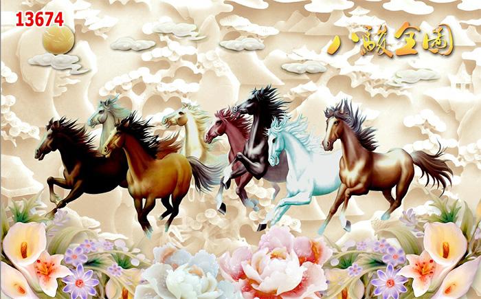 Tranh Ngựa | Tranh Mã Đáo Thành Công - 13674
