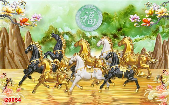 Tranh Ngựa | Tranh Mã Đáo Thành Công - 20054