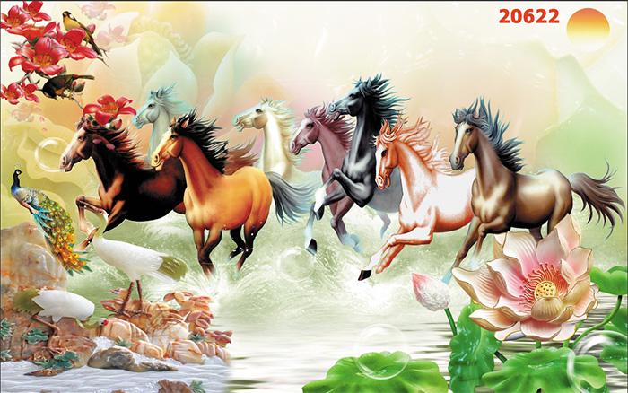 Tranh Ngựa | Tranh Mã Đáo Thành Công - 20622