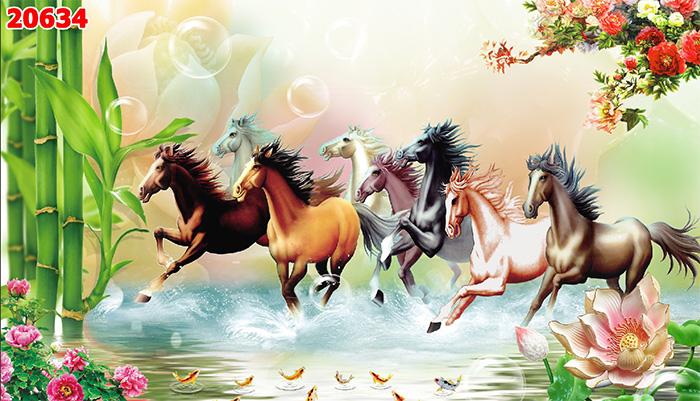 Tranh Ngựa | Tranh Mã Đáo Thành Công - 20634