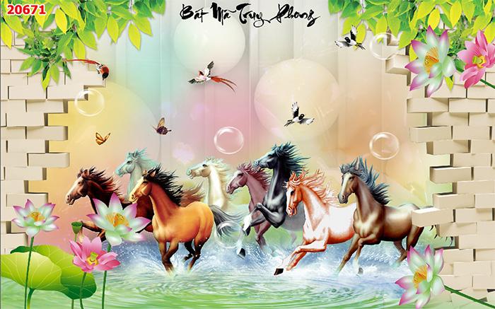 Tranh Ngựa | Tranh Mã Đáo Thành Công - 20671