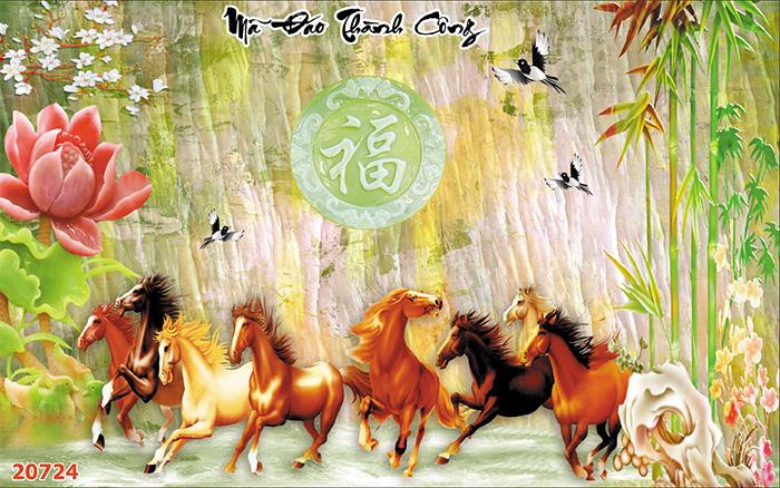 Tranh Ngựa | Tranh Mã Đáo Thành Công - 20724