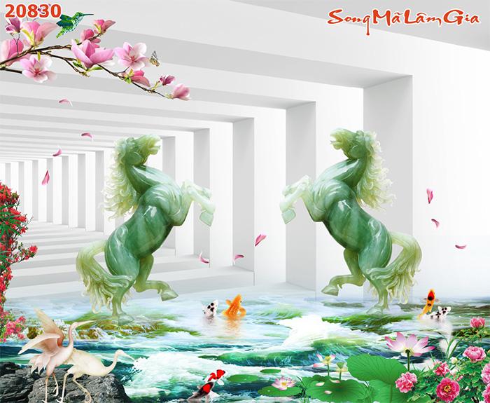 Tranh Ngựa | Tranh Mã Đáo Thành Công - 20830