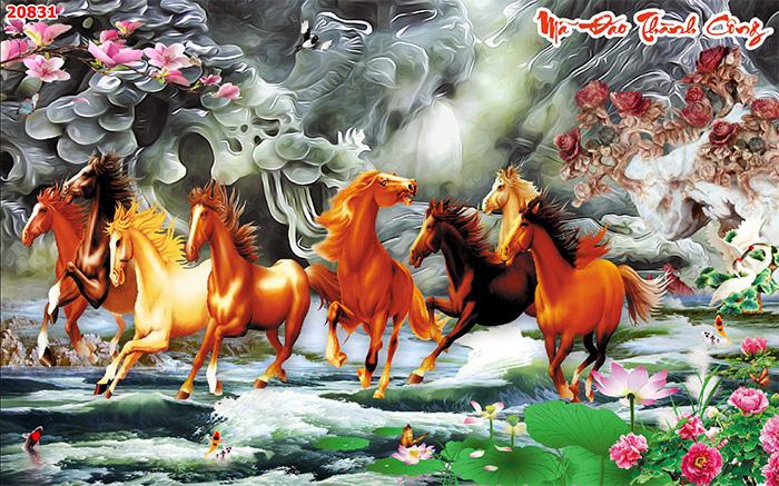 Tranh Ngựa | Tranh Mã Đáo Thành Công - 20831