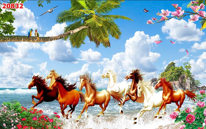 Tranh Ngựa | Tranh Mã Đáo Thành Công - 20832