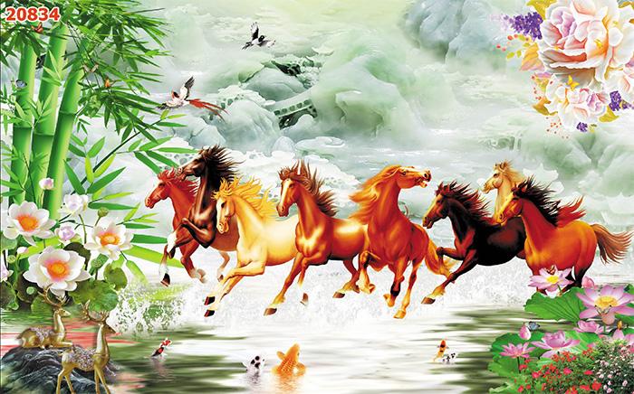 Tranh Ngựa | Tranh Mã Đáo Thành Công - 20834