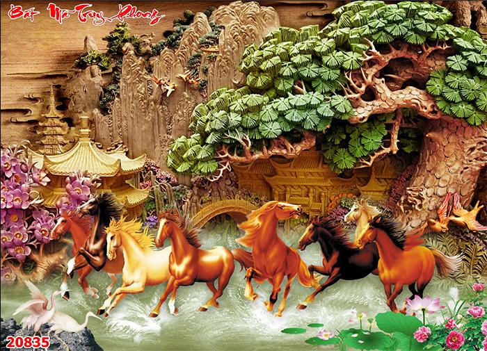 Tranh Ngựa | Tranh Mã Đáo Thành Công - 20835