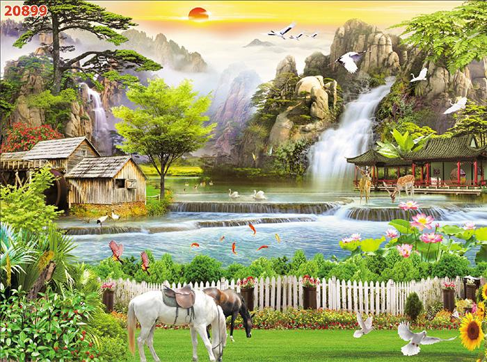 Tranh Ngựa | Tranh Mã Đáo Thành Công - 20899