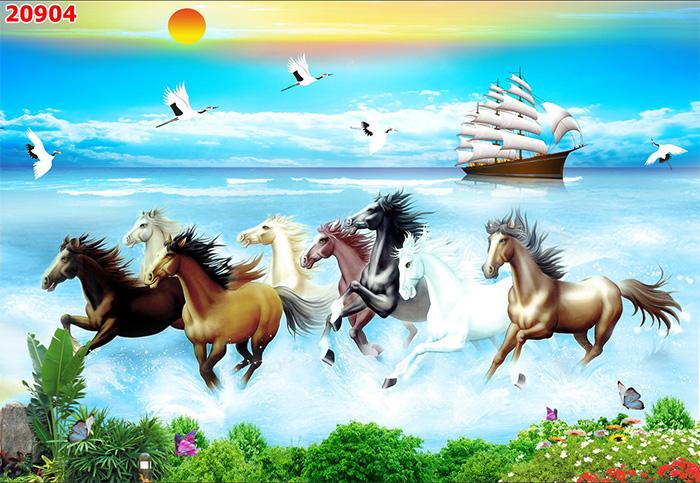 Tranh Ngựa | Tranh Mã Đáo Thành Công - 20904