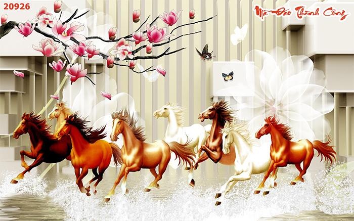 Tranh Ngựa | Tranh Mã Đáo Thành Công - 20926