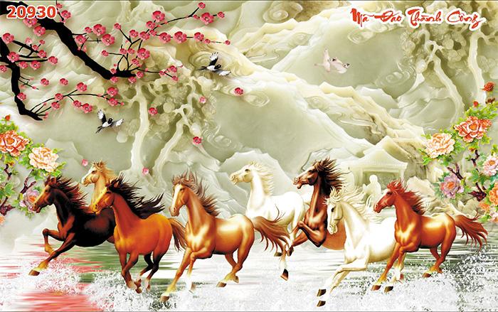 Tranh Ngựa | Tranh Mã Đáo Thành Công - 20930