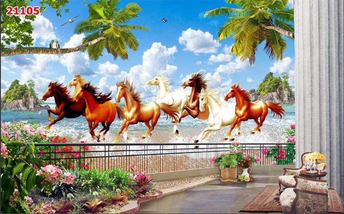 Tranh Ngựa | Tranh Mã Đáo Thành Công - 21105