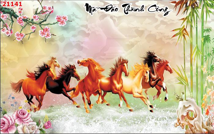 Tranh Ngựa | Tranh Mã Đáo Thành Công - 21141