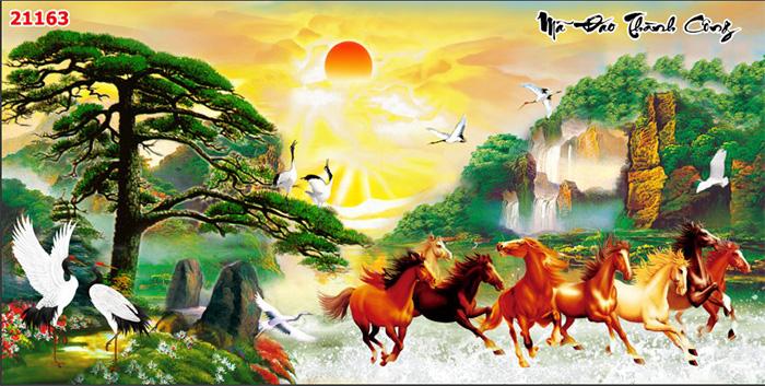 Tranh Ngựa | Tranh Mã Đáo Thành Công - 21163