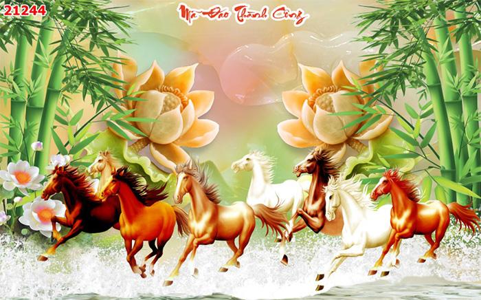 Tranh Ngựa | Tranh Mã Đáo Thành Công - 21244