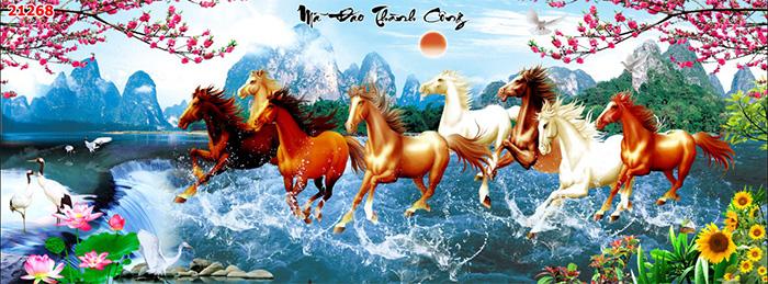 Tranh Ngựa | Tranh Mã Đáo Thành Công - 21268