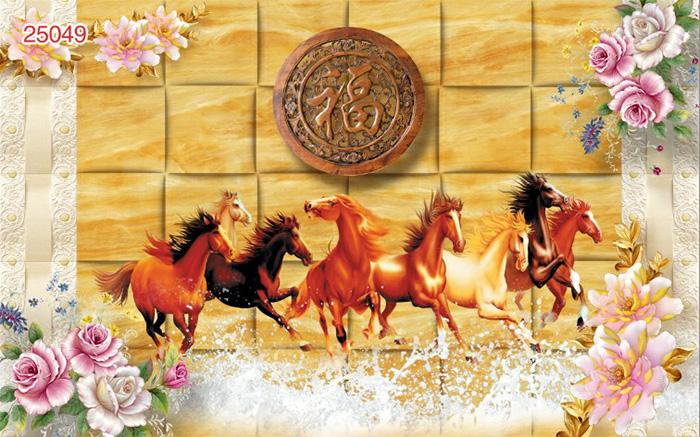 Tranh Ngựa | Tranh Mã Đáo Thành Công - 25049