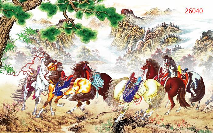 Tranh Ngựa | Tranh Mã Đáo Thành Công - 26040