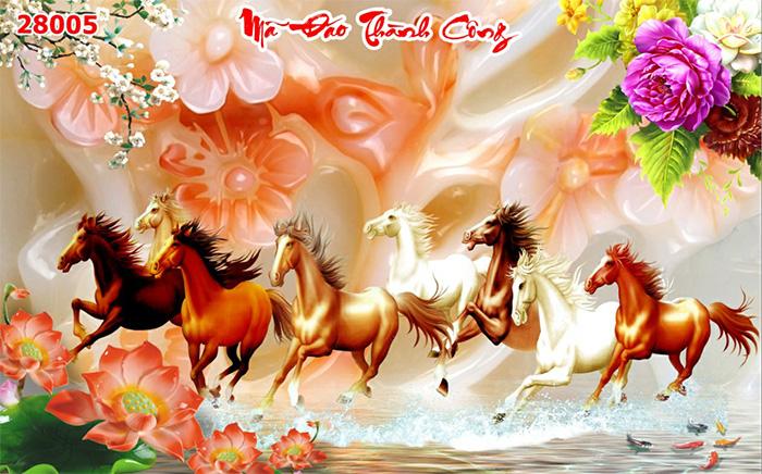 Tranh Ngựa | Tranh Mã Đáo Thành Công - 28005
