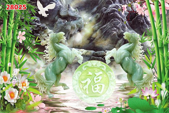 Tranh Ngựa | Tranh Mã Đáo Thành Công - 28025